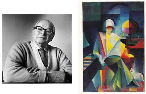 Johannes Itten and his human figures