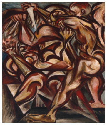 Early work by Jackson Pollock 1940